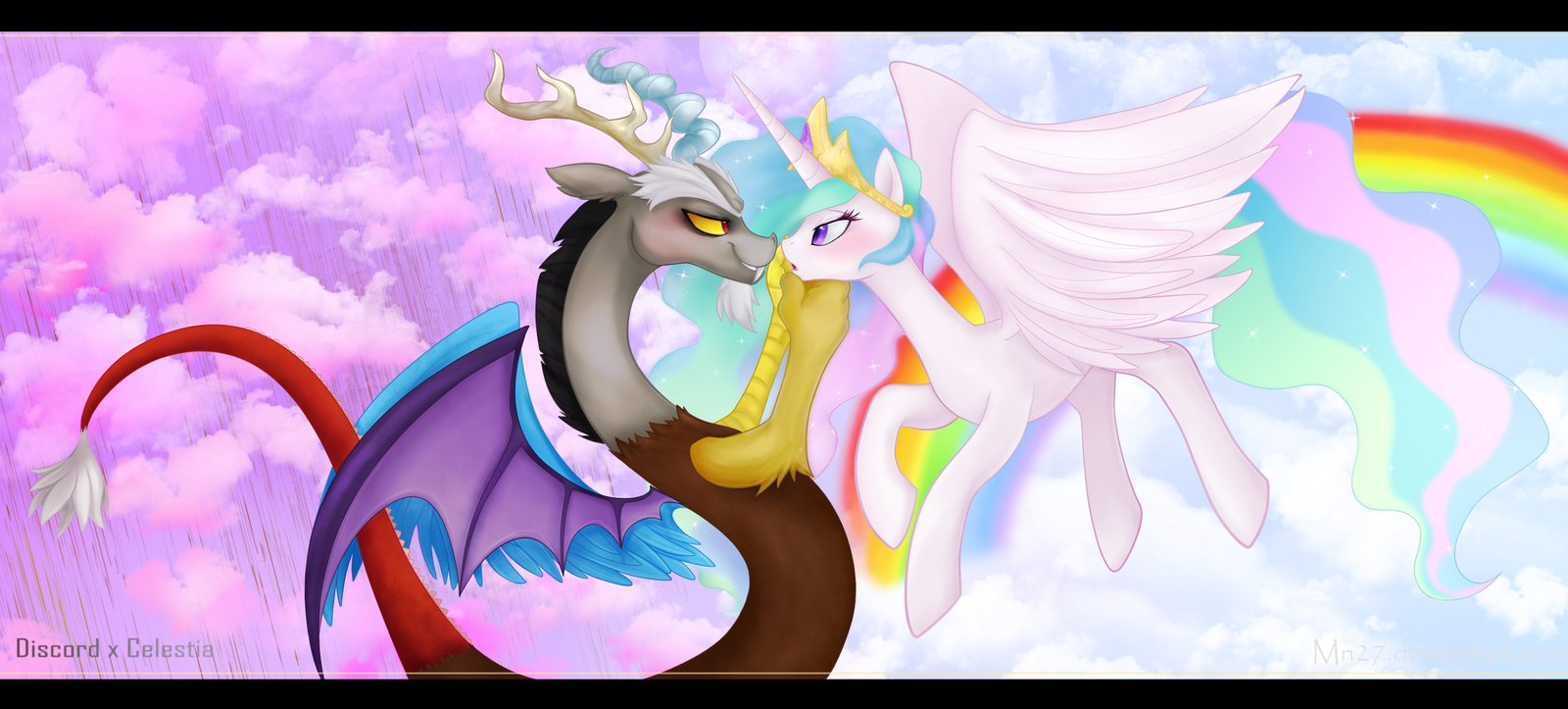 Rainbows and Chocolate rain by Mn27 on DeviantArt