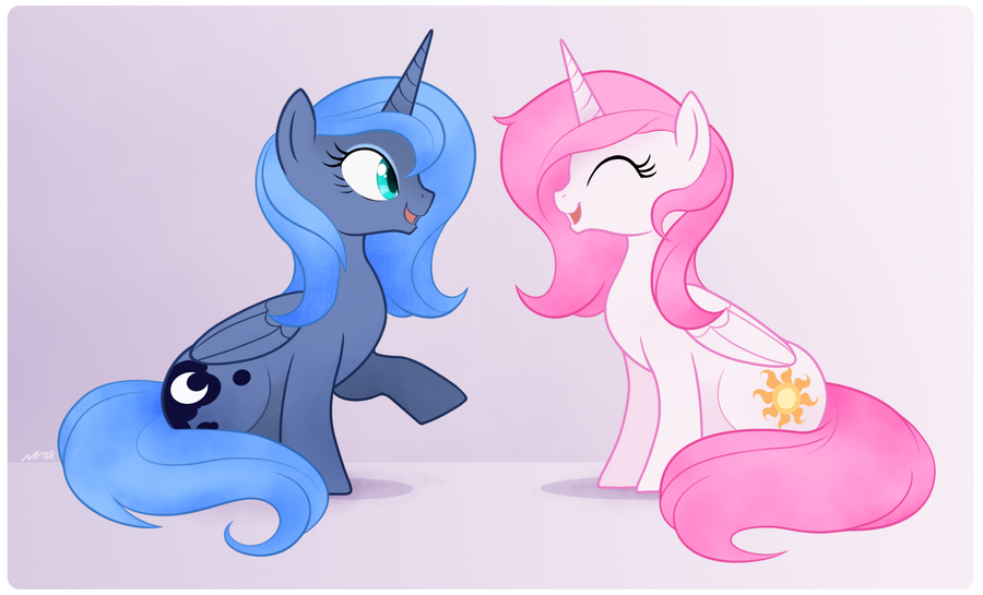 Moon and Sun by Mn27
