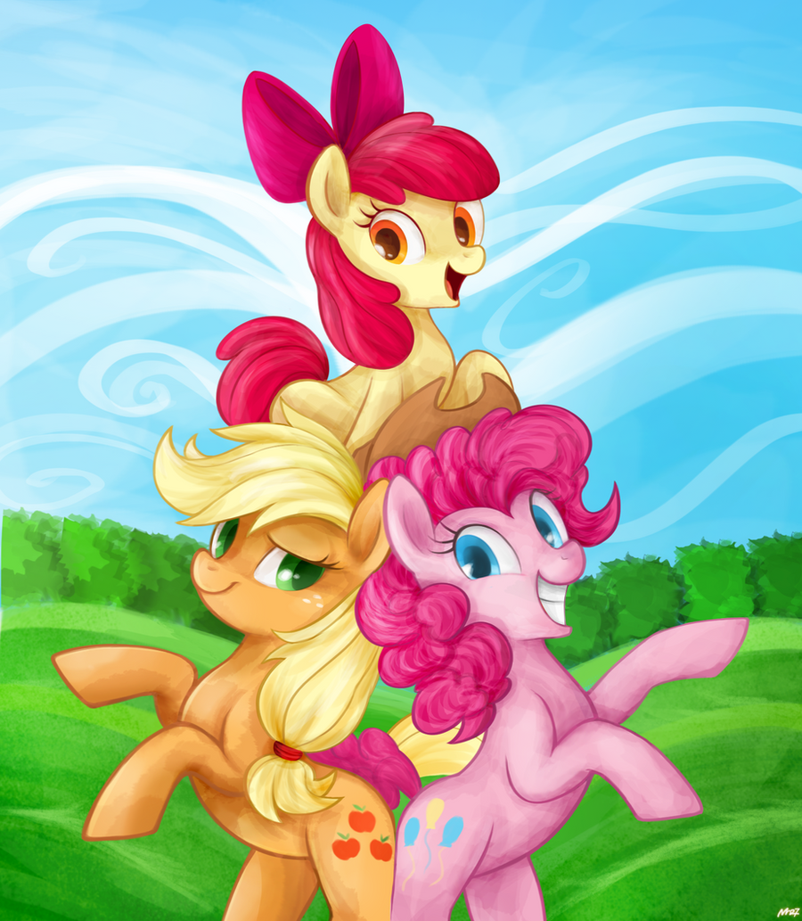 Apple Pie Sisters by Mn27