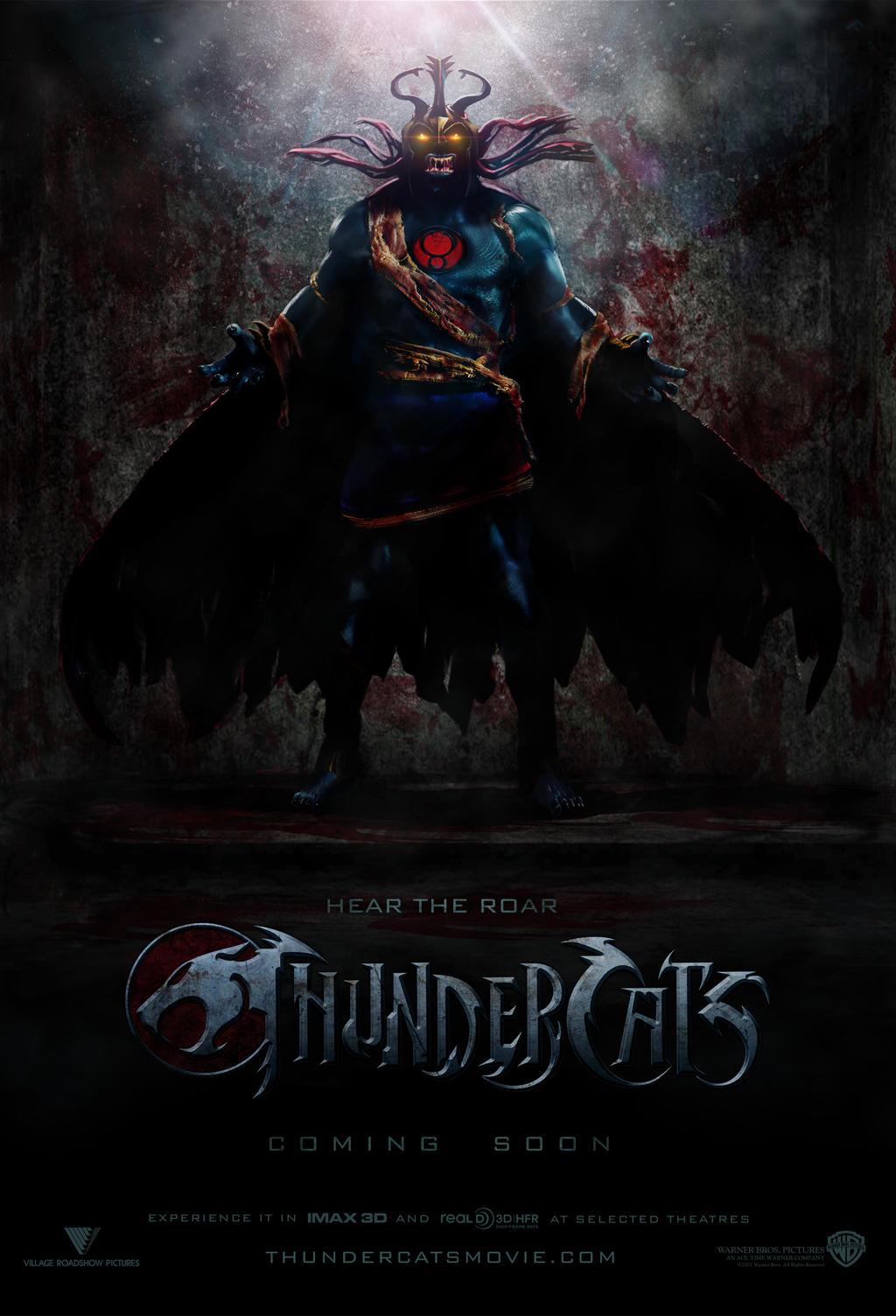 thundercats theatrical teaser poster by sdmdigital on