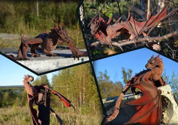 dragon Smaug by FilippovaAlison
