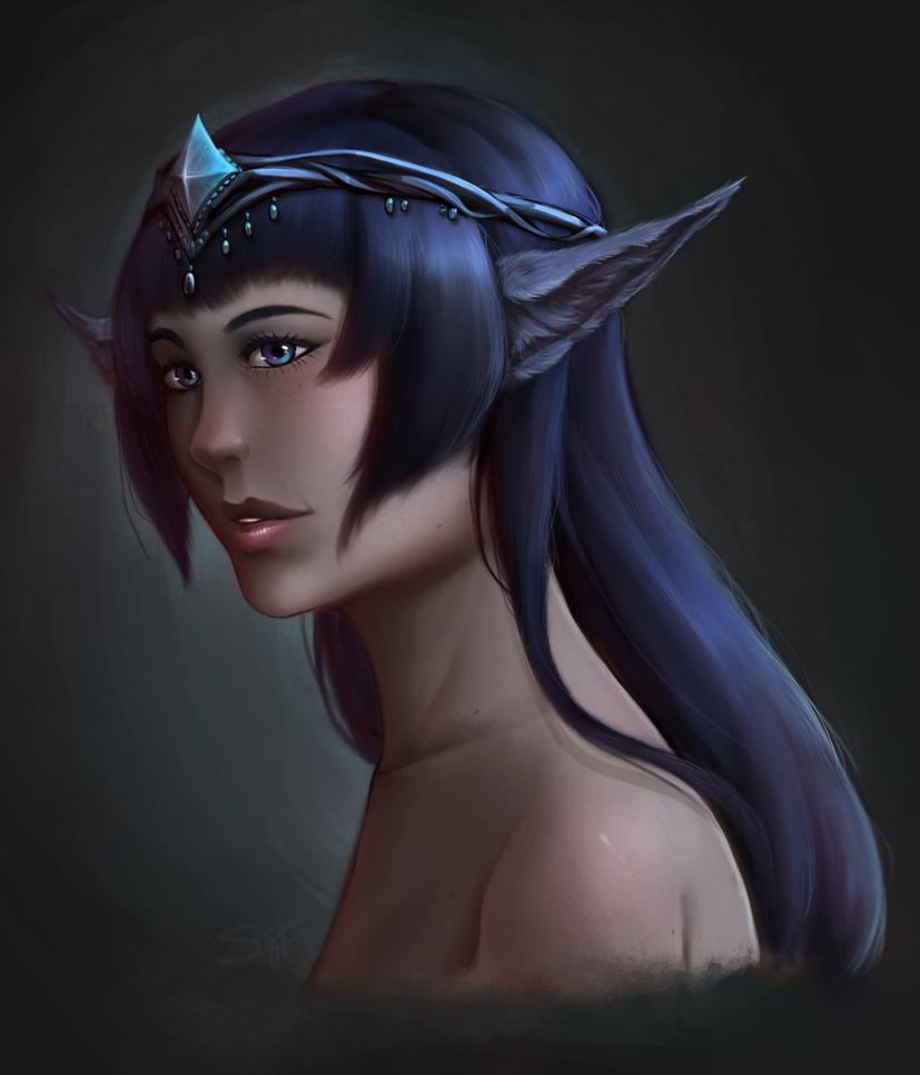 Portrait by Alonaria