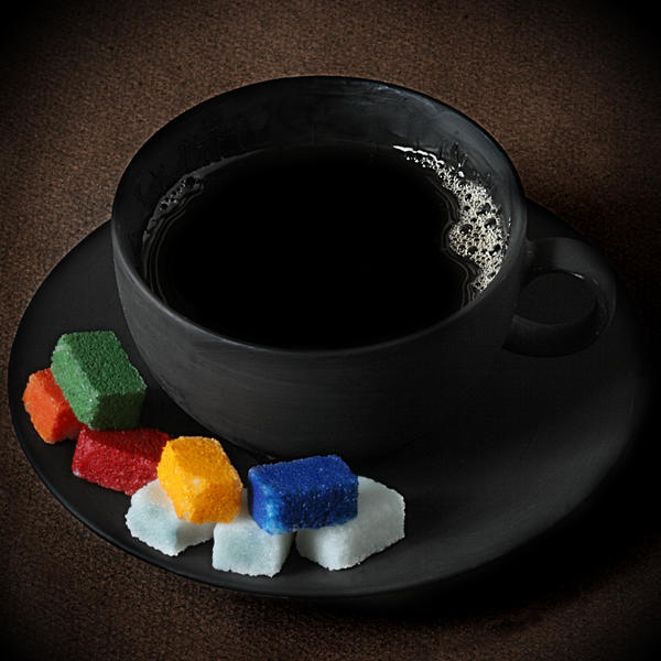 Coffee for Mister Mondrian by Floriandra