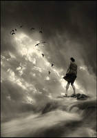 On the edge by Floriandra