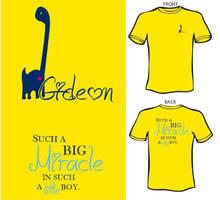 Gideon T-Shirt by Earthymoon