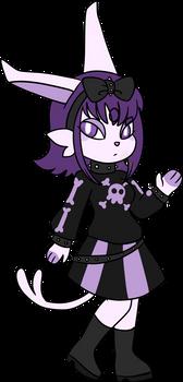 Lydia the anthro espeon