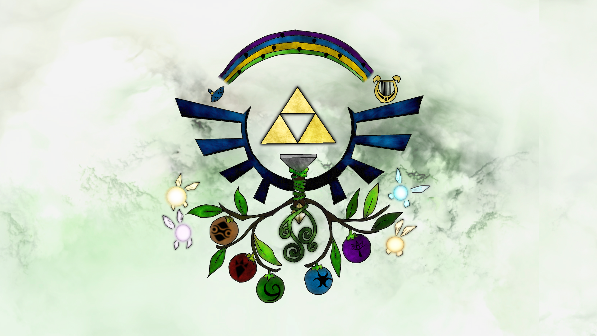 Zelda Wallpaper by SchadenZareude on DeviantArt