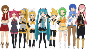 Vocaloid (AND UTAU) Kisekae + Exports!