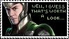 Loki stamp no.2 by sternenstauner