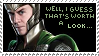 Loki stamp no.2 by sternenstauner
