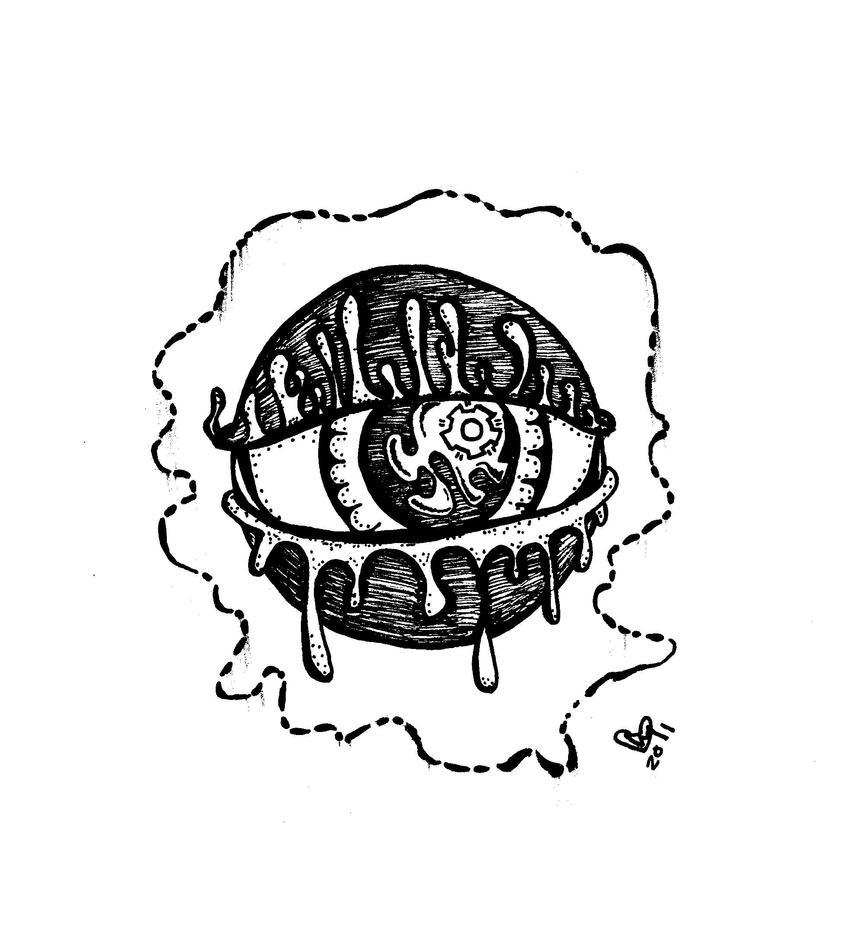 All Seeing Eye By Sapphirestarflake