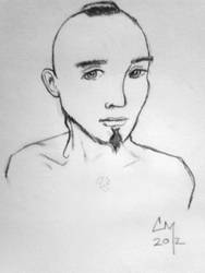 Thomas - 5 min doodle by sapphirestarflake
