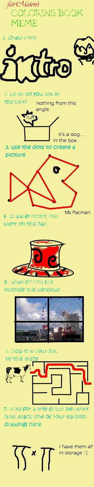 Coloring book meme by bananagosip808 on deviantart Coloring book meme