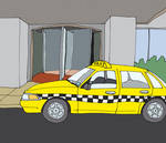 Taxi/Hotel Entrance