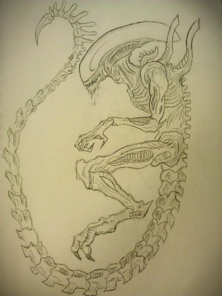 Xenomorph by BlargMySnoogle