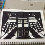 doctor who cutout