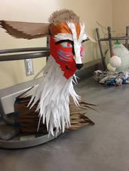 Forest spirit head