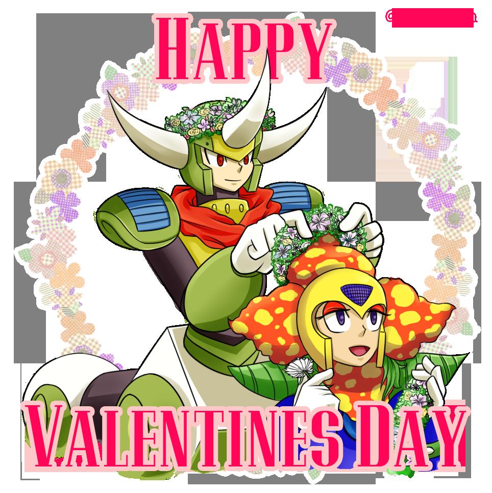 Happy Valentine [CentaurMan and PlantMan] by SuzyLin