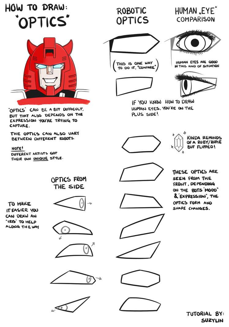 Optics Drawing [Tutorial] by SuzyLin
