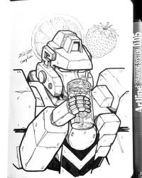Bots with Drinks - 02 by SuzyLin