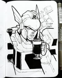 Bots with Drinks - 05 by SuzyLin