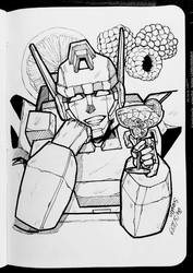 Bots with Drinks - 07 by SuzyLin