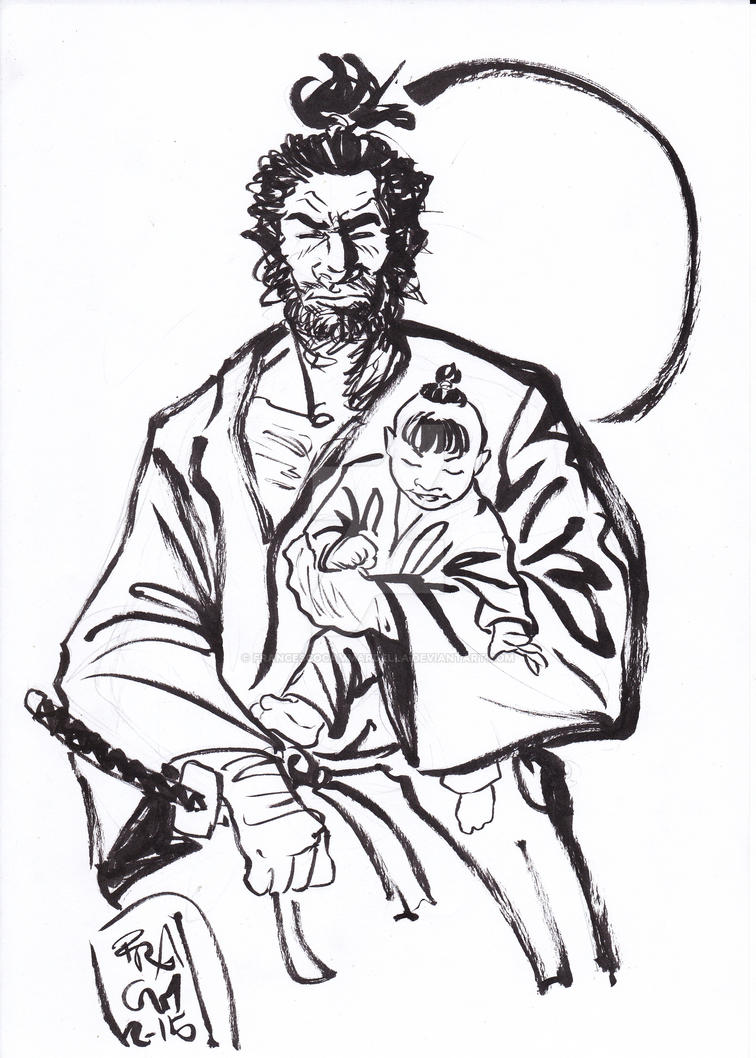 DSC Lone Wolf and Cub by Sassophiliaco