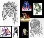 Fan Art Compilation - Jamie H 1 by MetroidDatabase