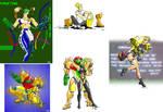 Fan Art Compilation - TJ Rappel by MetroidDatabase
