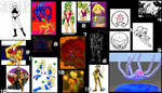 Fan Art Compilation - Multiple Artists 5 by MetroidDatabase