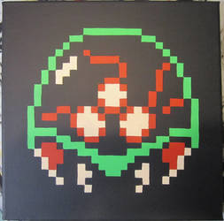 Metroid Pixel Painting