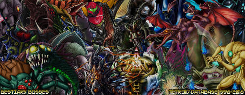 Bestiary Bosses by MetroidDatabase