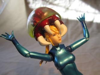 Zero Suit Samus Figma - A Metroid's on Your Head