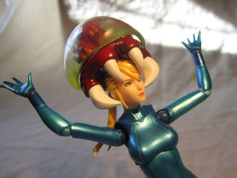 Zero Suit Samus Figma - A Metroid's on Your Head by MetroidDatabase
