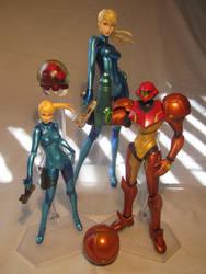 Zero Suit Samus Figma - Max Factory Samus Family