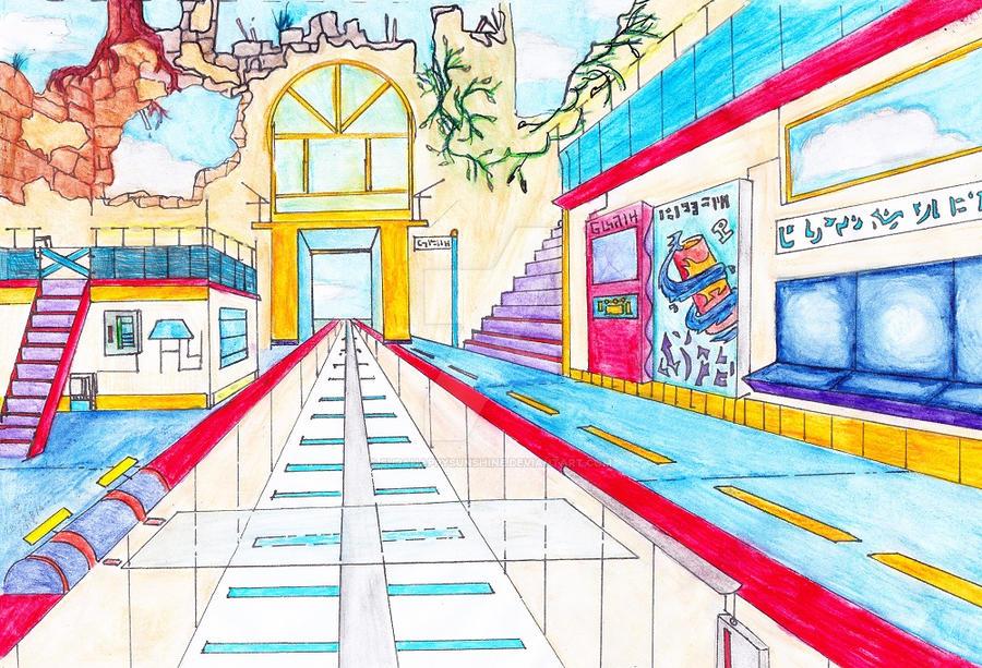 The Station by supahappysunshine