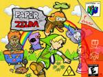 Paper Zelda by HapyCow