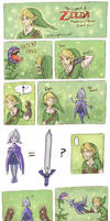 The New Master Sword by HapyCow
