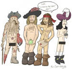 Naked Pirates