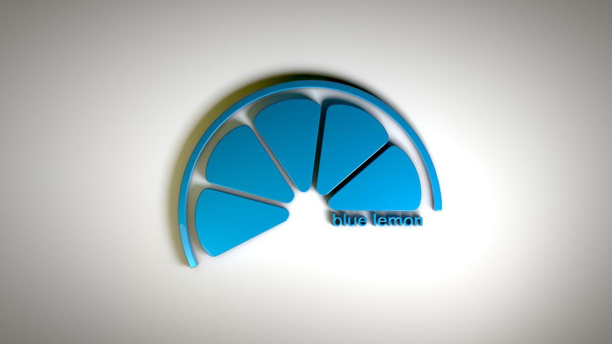 Blue lemon - logo by iosa on DeviantArt