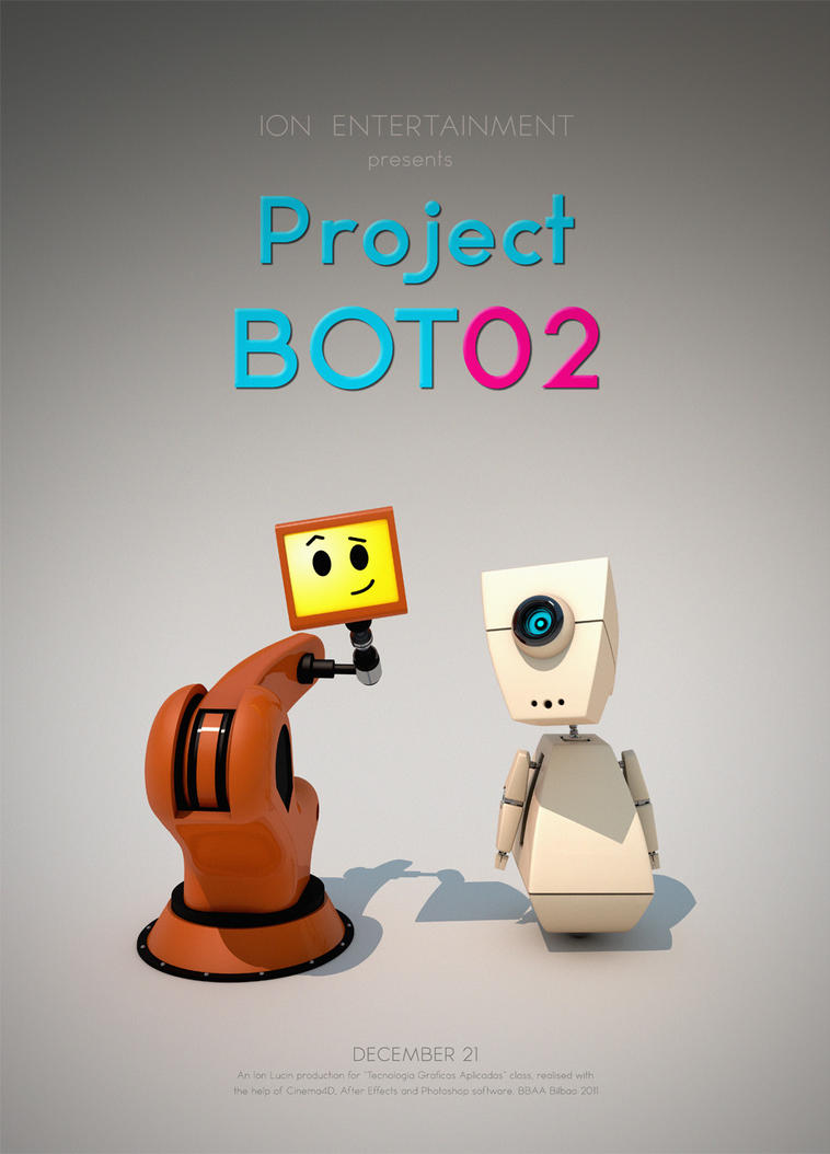 Project BOT 02 - Poster by iosa