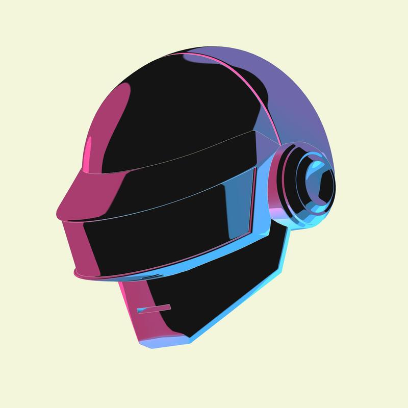 Daft Punk Tribute by iosa