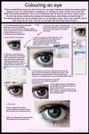 How to colour an eye by Monarda