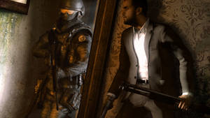 Max Payne fighting Frenchies