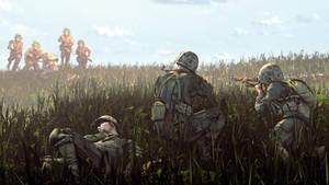 Aiming at the horizon
