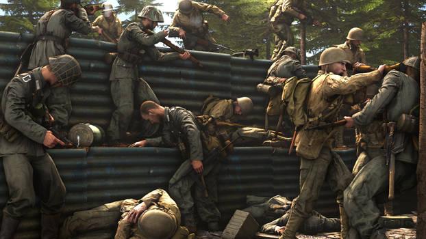 Trench assault boys