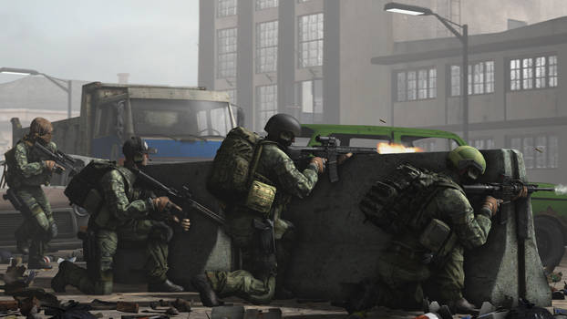 USEC creating a base of fire