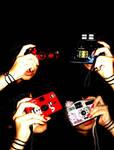 camera and red nail polish by laa-laaa