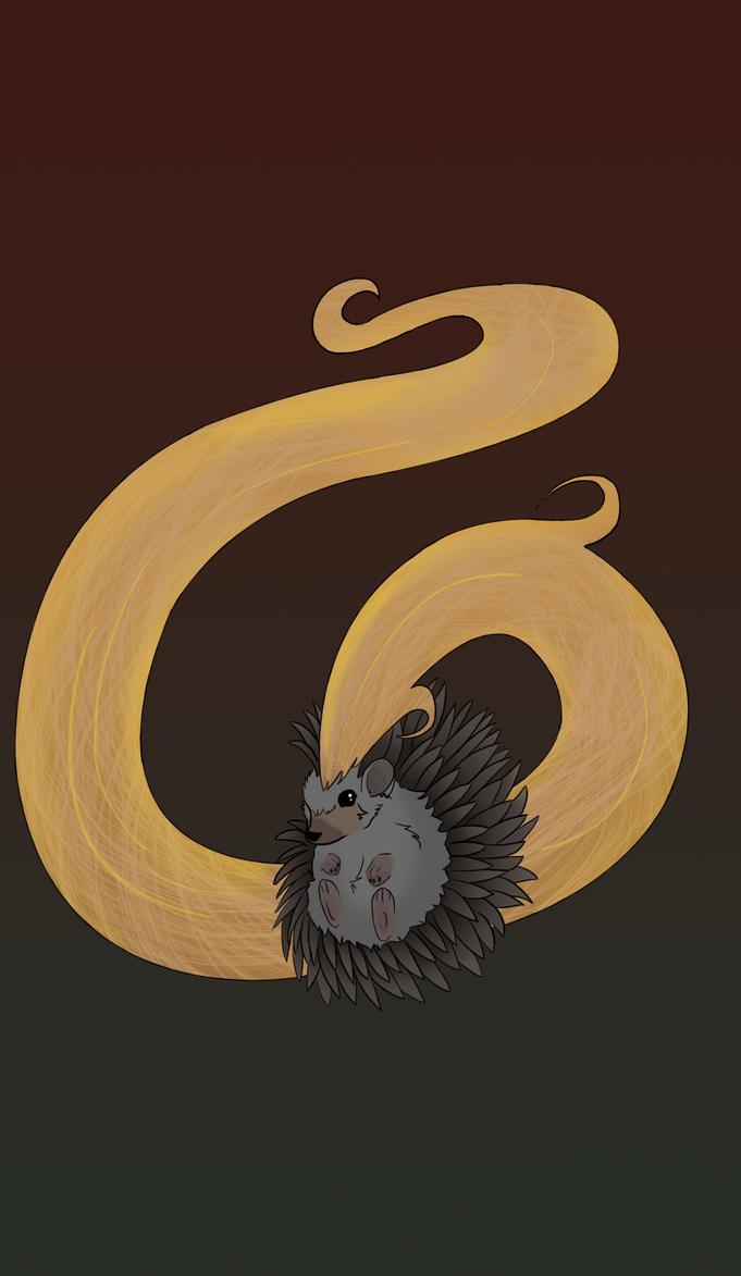 Hedgehogbro by wolfywings