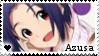 F2U - Azusa - The Idolmaster - Stamp by vvhiskers